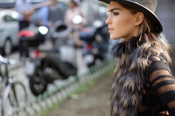 Milan Fashion Week: Модели после показов. Изображение № 17.