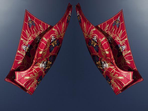 Изображение 2. Лукбук: платки Alexander McQueen SS 2011.. Изображение № 2.