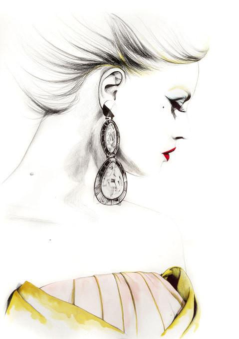 Изображение 27. Акварельные иллюстрации Caroline Andrieu.. Изображение № 27.