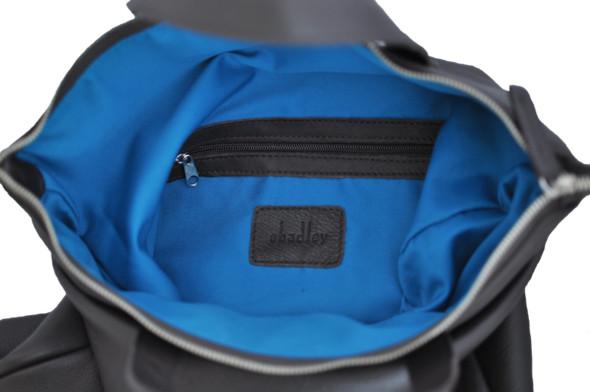 Коричневая кожа, синяя подкладка.. Изображение № 6.