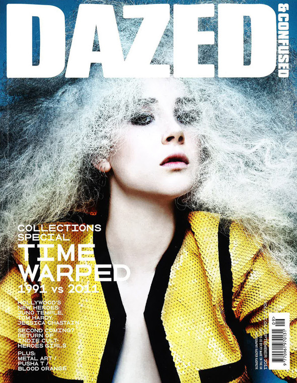 Обложки: Dazed & Confused, i-D и Dansk. Изображение № 1.