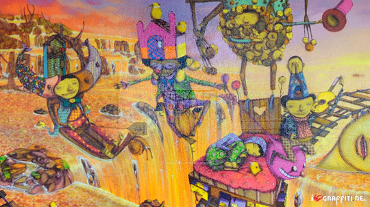 Граффити художники Os Gmeos о творческом пути. Изображение № 27.