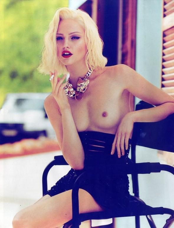 Превью съёмки: Саша Пивоварова для Vogue. Изображение № 1.