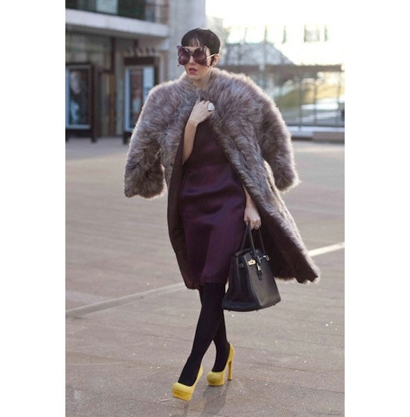 Изображение 25. На полях: 10 тенденций уличного стиля с прошедших недель моды.. Изображение № 25.