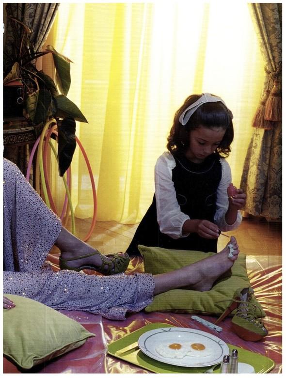 Съёмка: Бьянка Балти для итальянского Vogue. Изображение № 15.