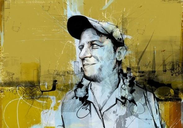 Russ Mills : графика, фотография и живопись. Изображение № 34.