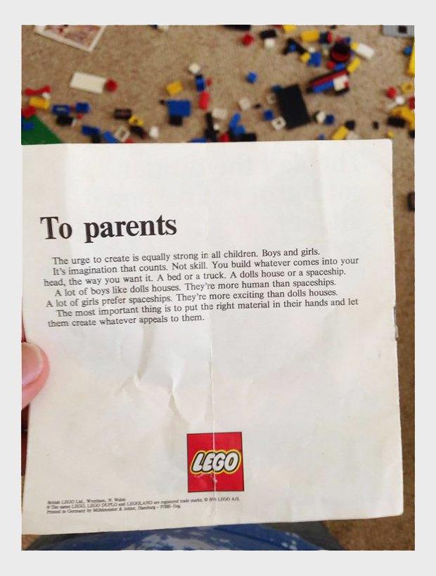 Как LEGO предлагала воспитывать детей в 1970-х. Изображение № 2.