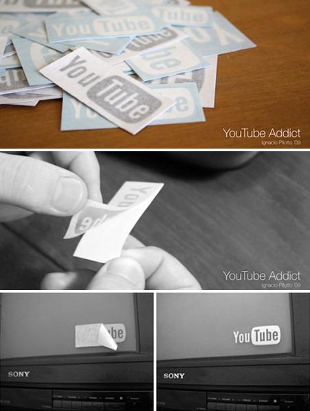 Наклейки дляфанатов YouTube. Изображение № 1.