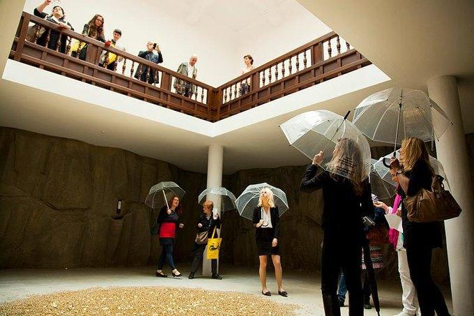 Открытие российского павильона на 55 Биеннале современного искусства в Венеции. Изображение № 1.