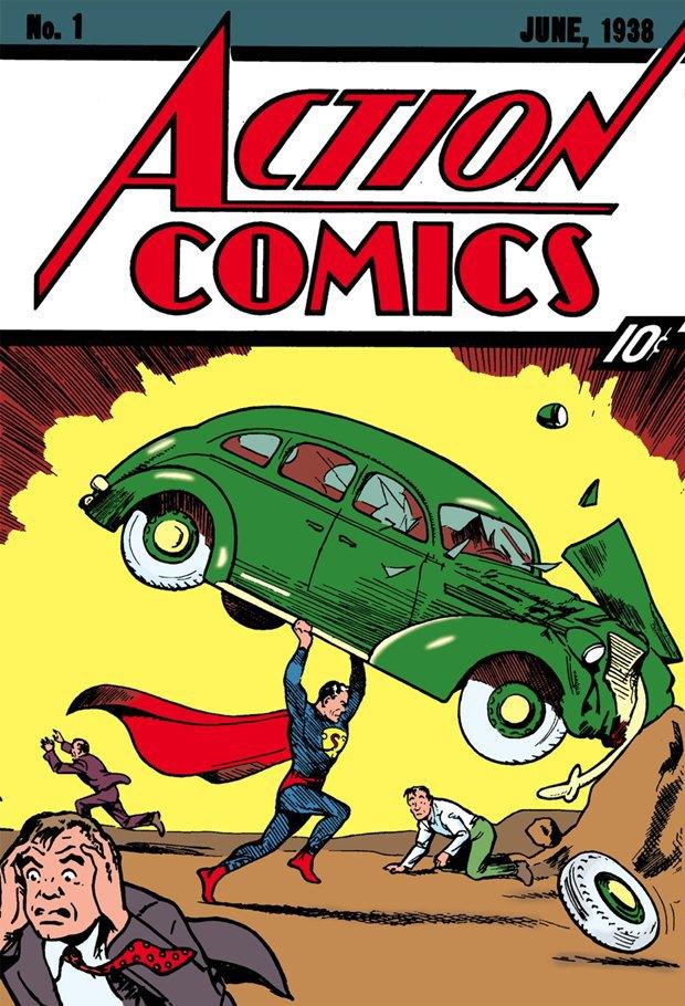 Обложка Action Comics №1. Изображение № 1.