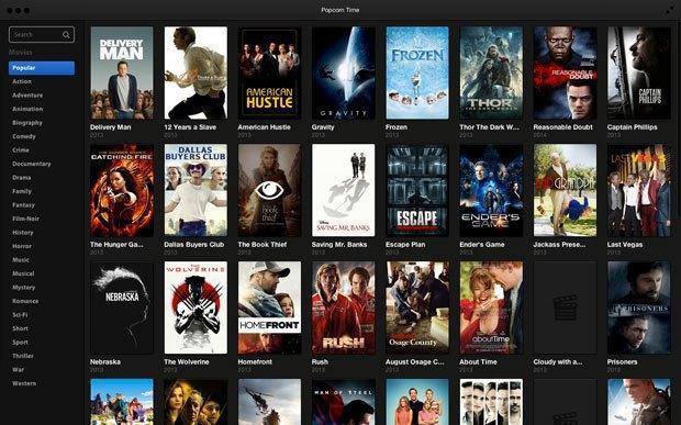 Сервис Popcorn Time будет перезапущен другим разработчиком. Изображение № 1.