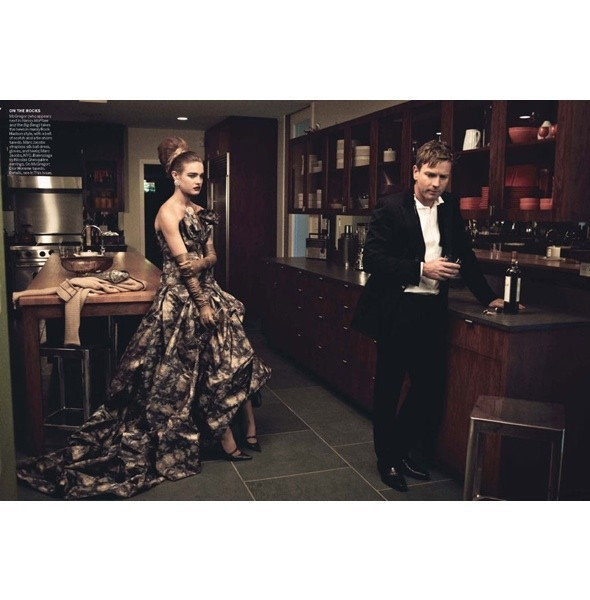 5 новых съемок: Amica, Elle, Harper's Bazaar, Vogue. Изображение № 33.