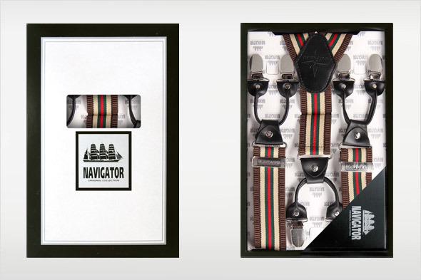 Коллекция подтяжек «Навигатор» от Sevaro Elit . Изображение № 9.