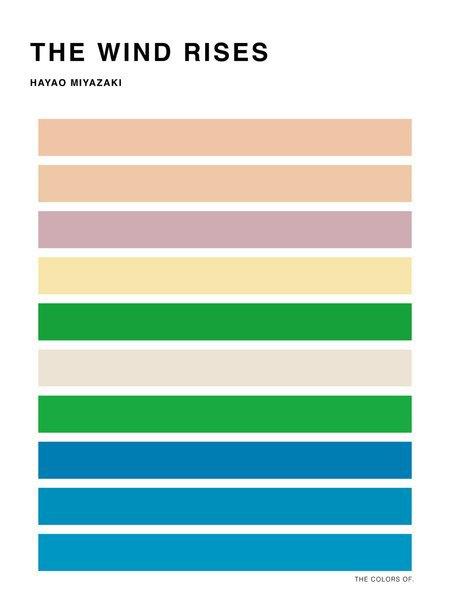 Дизайнер выбрал цвета из фильмов Миядзаки и Disney. Изображение № 6.