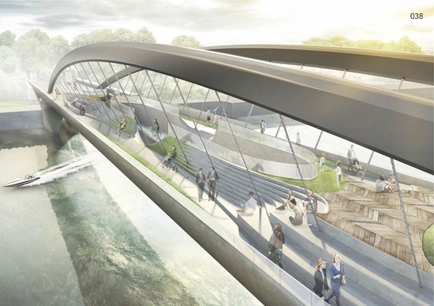 Выложены 74 проекта нового моста через Темзу. Изображение № 1.