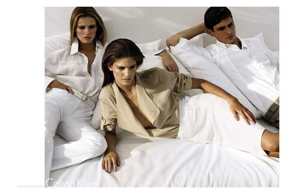 Изображение 1. Превью кампаний: Calvin Klein White Label, Diane Von Furstenberg и Isabel Marant.. Изображение № 1.