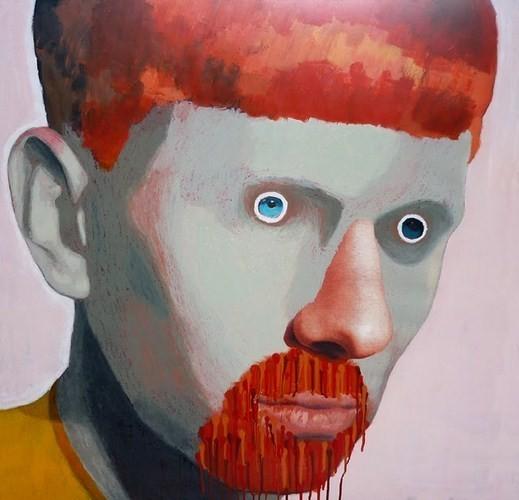 Абсурдные и привлекательные портреты Хуима Тио. Изображение № 2.