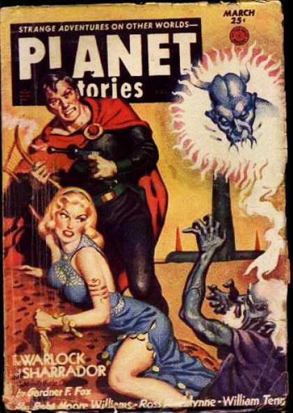 Космические обложки Pulp-журналов. Изображение № 18.