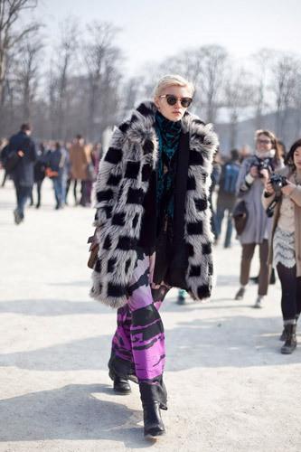 Нерабочее время: Блоги об уличном стиле моделей. Изображение № 1.