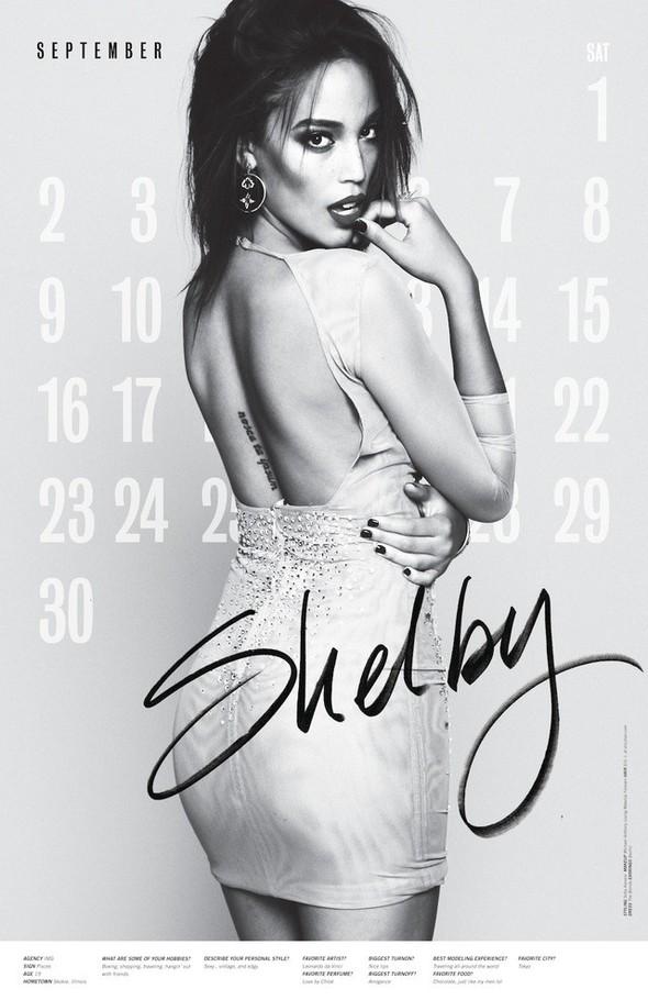 Съёмка: Календарь журнала LoveCat на 2012 год. Изображение № 10.