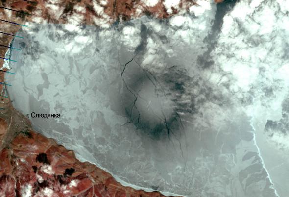 Новая загадка: Круги на полях сменились кругами на льду. Изображение № 6.