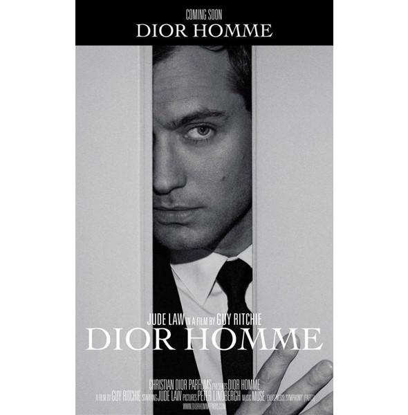 Гай Ричи снял Джуда Лоу для Dior Homme. Изображение № 1.