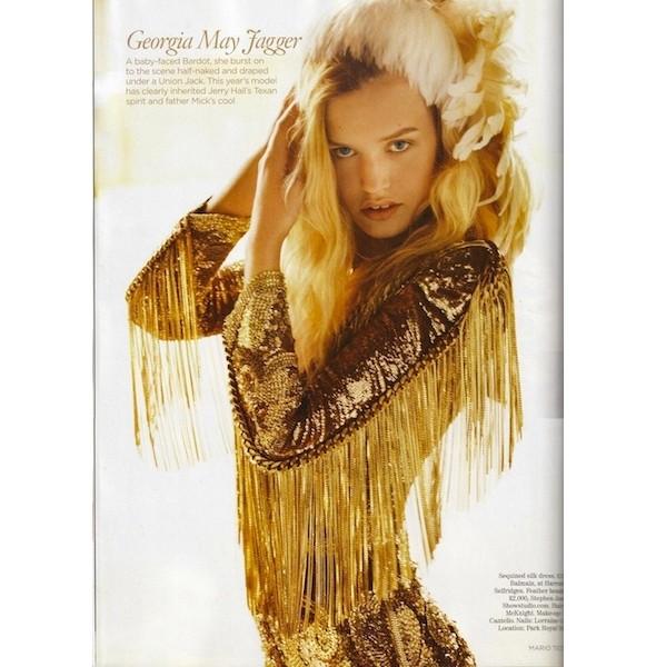 Новые съемки: Elle, Marie Claire, Vogue и другие. Изображение № 36.