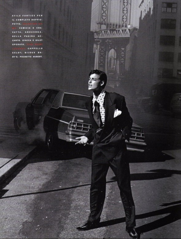 Архивная съёмка: Линда Евангелиста, Наоми Кемпбелл и Кристи Терлингтон для Vogue. Изображение № 13.