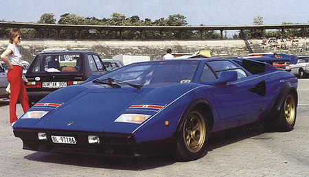 Lamborghini 1974 Countach LP400. Изображение № 2.