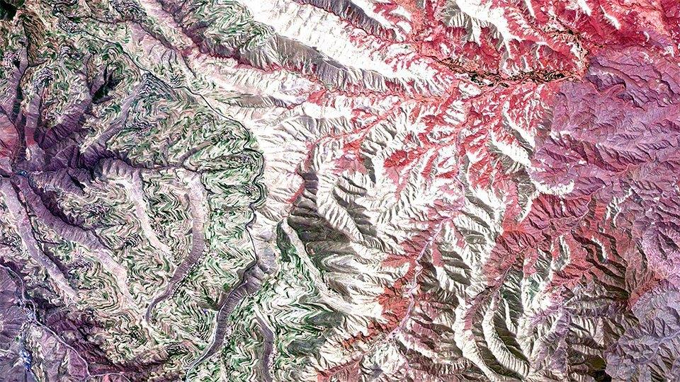 Снимки из космоса, напоминающие о хрупкости природы. Изображение № 13.