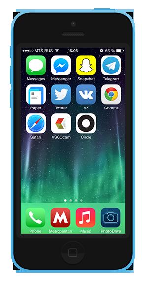 7 удобных способов  организовать иконки  на смартфоне. Изображение № 4.