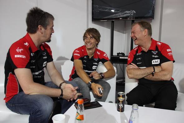 В Москве состоялась вечеринка российской гоночной команды Marussia F1 . Изображение № 1.