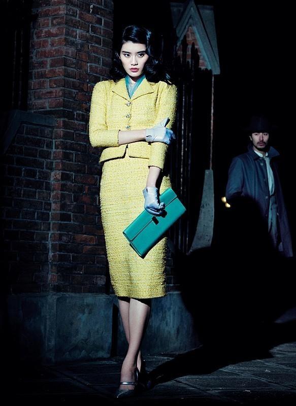 Съёмка: Мин Си для китайского Vogue. Изображение № 9.