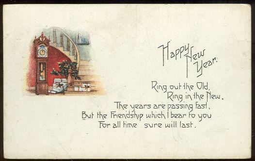 Новогодние открытки 1912 года. Изображение № 18.