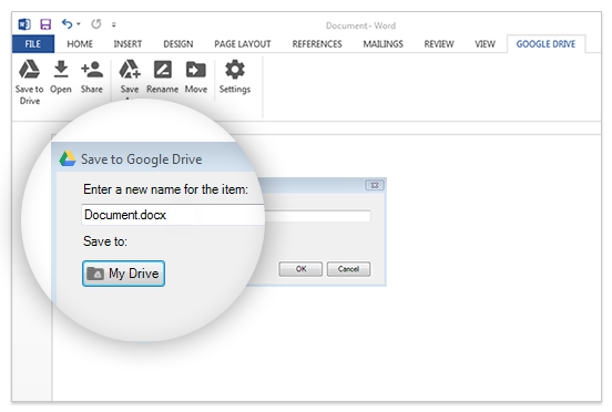 Google Drive интегрировали сMicrosoft Office. Изображение № 2.