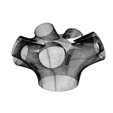 Архитектор впервые использовал 3D-принтер для отделки помещения. Изображение № 2.