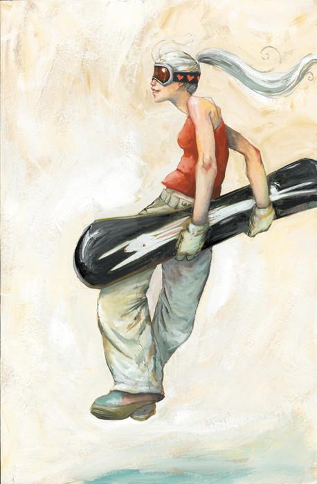 Живописные иллюстрации Shino Arihara. Изображение № 6.