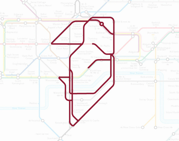 Осторожно! Звери в лондонском метро!. Изображение № 14.