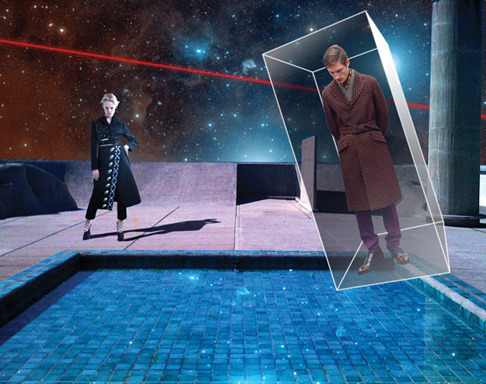 Новый лукбук Prada Real Fantasies посвящен космосу. Изображение № 22.