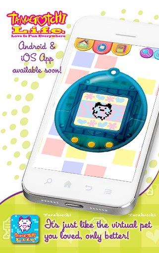 «Тамагочи» возвращается на iPhone и Andoid. Изображение № 1.