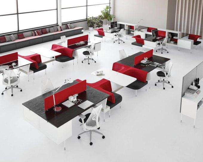 Herman Miller начал выпуск «гибкой» офисной мебели Ива Беара. Изображение № 1.