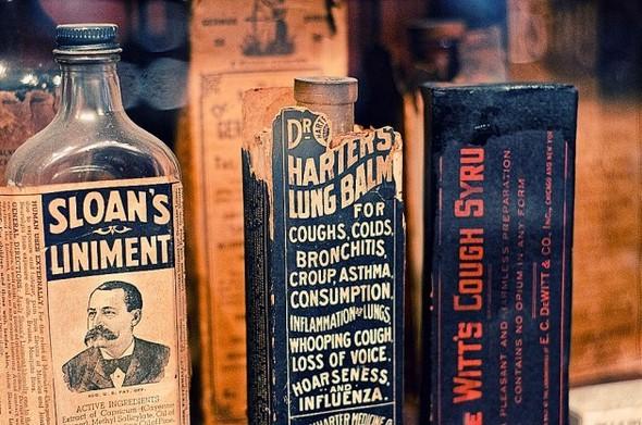 Аптека - музей в Новом Орлеане. Изображение № 1.