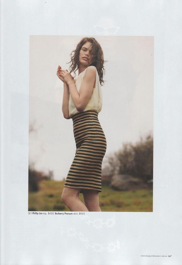 Съёмка: Рианне Тен Хакен для Harper's Bazaar. Изображение № 15.