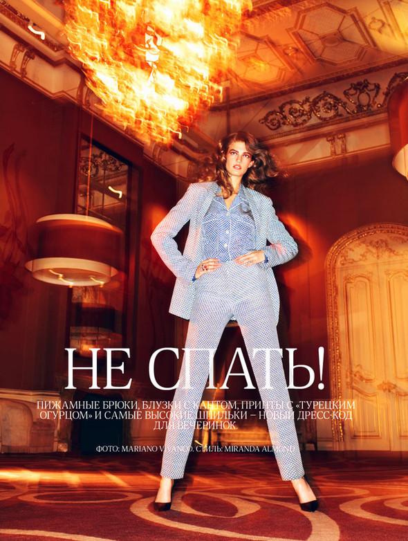 Съёмка: Кендра Спирс для российского Vogue. Изображение № 1.