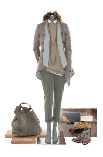 Brunello Cucinelli: лукбук осень-зима 2011/2012. Изображение № 103.