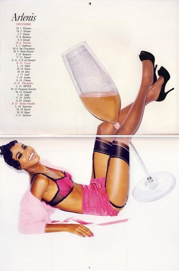 Vogue Paris 2008-2009-2010 Calendar. Изображение № 26.