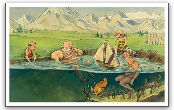 Watercolor humour. Изображение № 8.