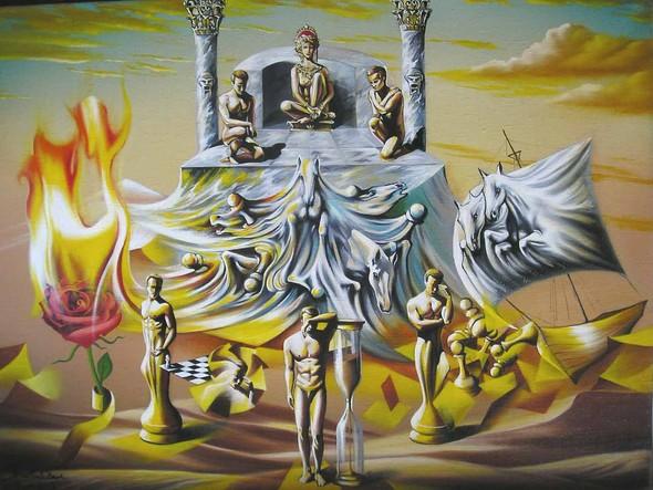 Символы в образах. Юров Виктор и его фантазии. Изображение № 1.