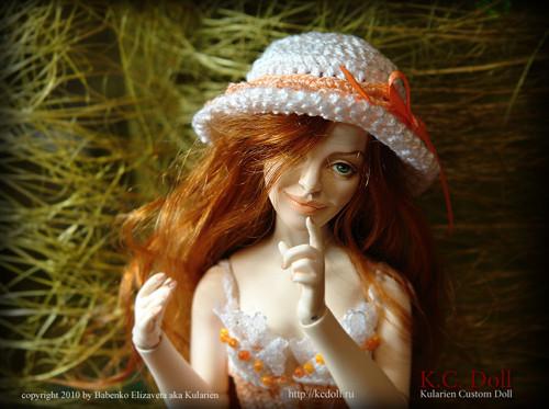 K.C.Doll. Миниатюра на шарнирах. Изображение № 6.
