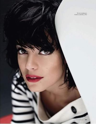 Lily Allen by Karl Lagerfeld for Elle december09. Изображение № 1.
